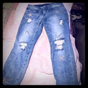 Rock and republic like new distressed jeans